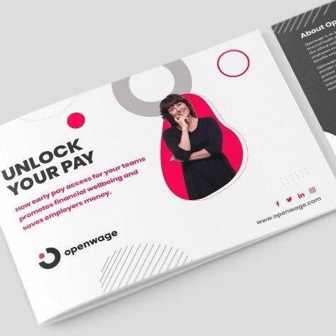 Fintech Company Brochure Design