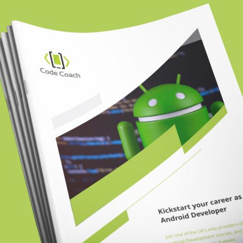 Coaching Brochure Design