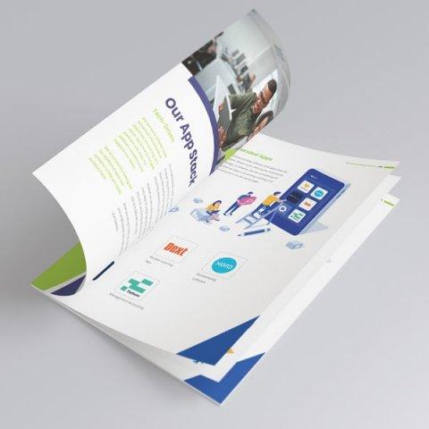 Accountant Brochure Design