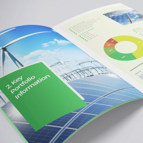 Energy Investment Brochure Design